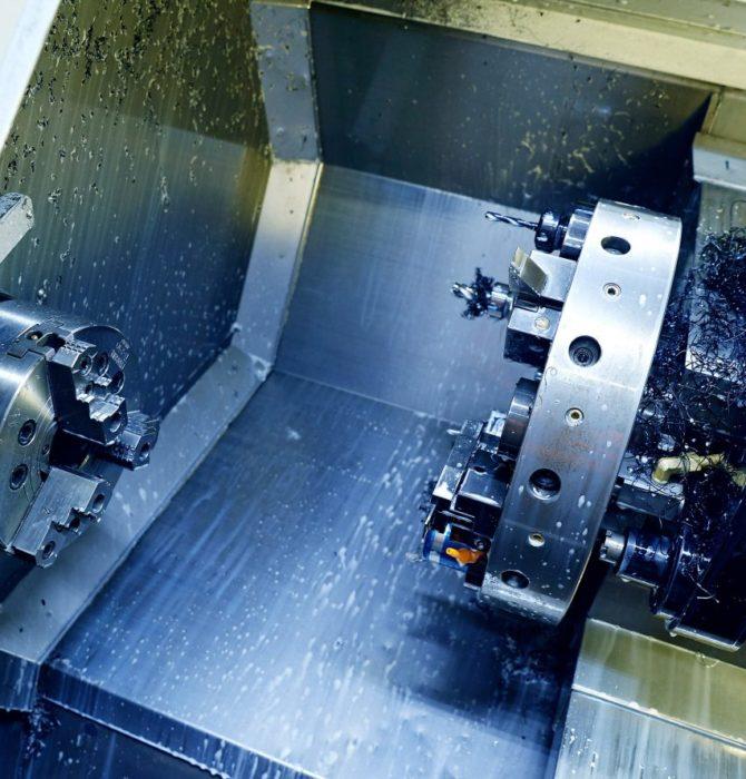 CNC-bearbeiding av staal